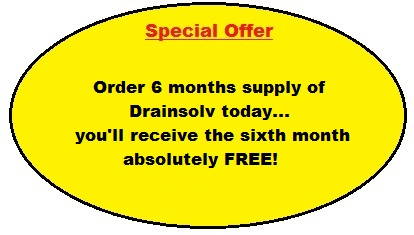 Domestic Drainsolv - offer of sixth month free product